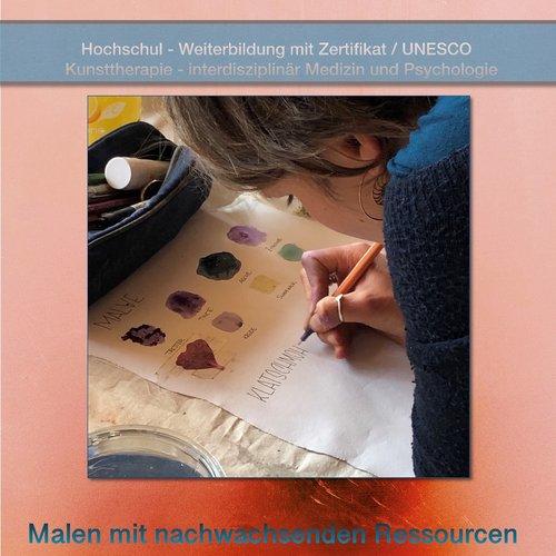 Malen mit nachwachsenden Ressourcen – Pflanzenfarben für Kunst, Therapie und Pädagogik