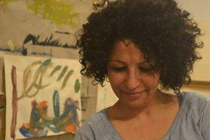Ateliergespräch mit Huda Neugebauer