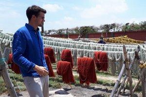 Besuch der Produktionsstätten von Triaz in Indien