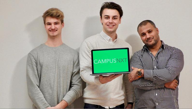 Student Niclas Weisl entwickelt App CampusNXT