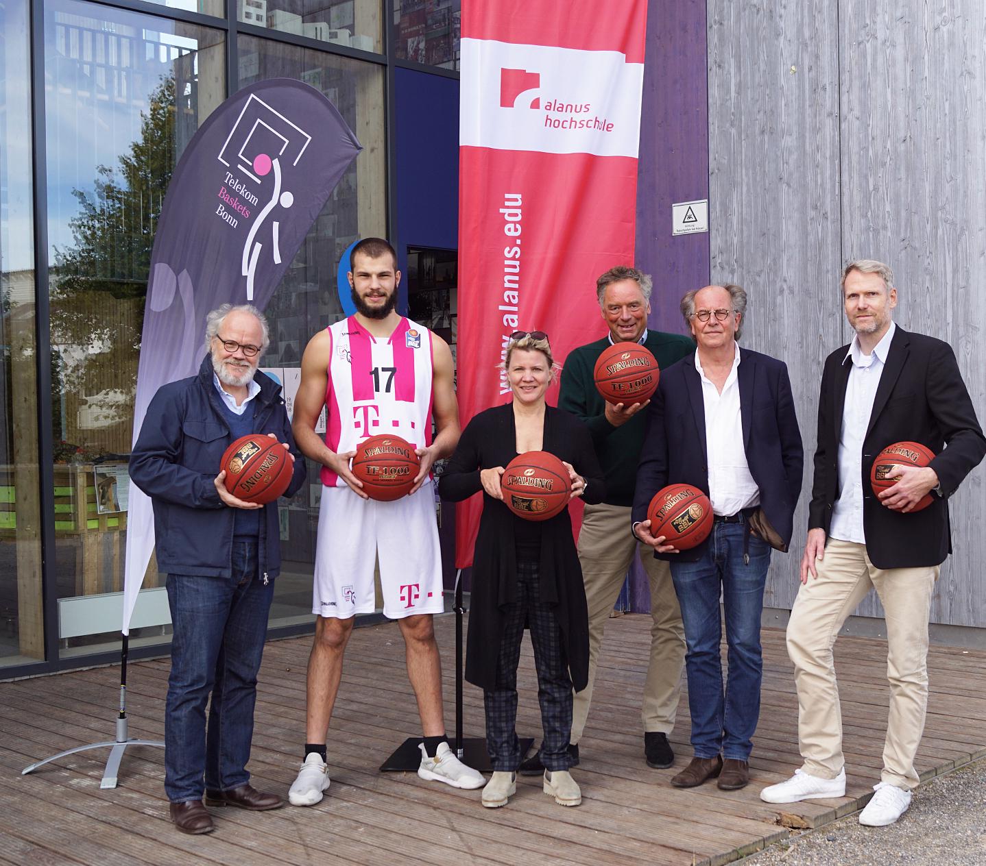 Alanus Hochschule und Telekom Baskets Bonn kooperieren