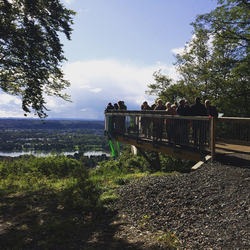 Aussichtsplattform Oberkassel eröffnet